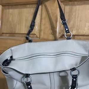 Coach Bags - Coach beige tote (authentic)